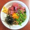 日の基 - 料理写真:まぐろ納豆¥580