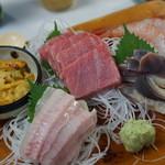 中華料理 揚子江 - 4500円のお刺身盛り合わせ