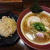 醤武屋 - 料理写真:Bセット(醤油そば700円+半チャーハン200円)