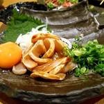 串イッカ - 地鶏のユッケ