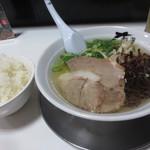 麺屋人生劇場 七転び八起き - ワンコインランチ500円