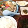 中華料理ぼたん - 料理写真:八宝菜定食700円