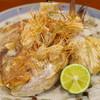 山映 - 料理写真:鯛の兜焼き