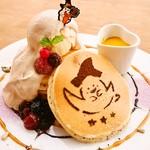 パンケーキママカフェ VoiVoi - ホットパンプキンのハロウィンパンケーキ