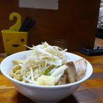 蓮爾 - 小ラーメン 麺少なめヤサイニンニク