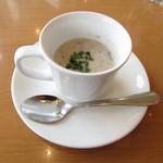 Fruit Parlor 別品堂 - 本日の小さなスープ:ポテトポタージュ