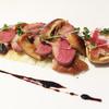 チンギアーレ - 料理写真:鴨ロースと椎茸のサラダ バルサミコソース/季節のコースより