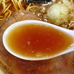 56995067 - 大ラーメン600円(スープ)