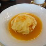 ミツバチ堂 - オレンジのクレープ