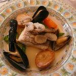 アン・ジャンヴィエ - 真鯛とキノコとムール貝のブレゼ
