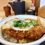 かつや - 料理写真:定番のかつ丼(2016.10現在)