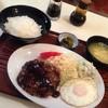 らんぶる - 料理写真:ハンバーグ定食♡