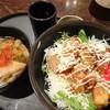 喫茶室 ふる里 - 料理写真:日替わり(唐揚げ丼+きしめん)(850円)