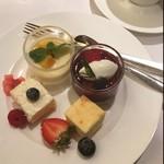 ストリングスホテル東京インターコンチネンタル - デザート\(^o^)/