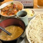 57066377 - ミニ丼うどん(中)セット 1,300円