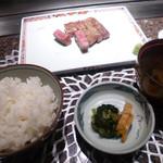 最上亭 - 肉と飯