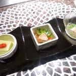 最上亭 - 前菜
