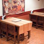 Puja - 2016.10 テーブル席
