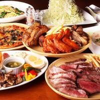 絶品肉料理をお楽しみいただけるコースは2,500円~