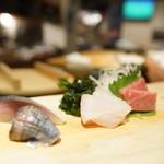 すし明 - 料理写真:さしみ