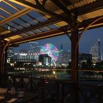 chano-ma - テラス席から見える夜景