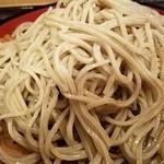 つぼみ家 - 蕎麦大盛 2016.10