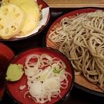 つぼみ家 - 野菜天ざる 2016.10