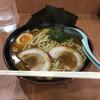 横浜家系ラーメン 十段家 - 料理写真:限定10食のイカ墨(醤油)何故か酸っぱい 酸っぱいなら酸っぱいと商品説明すべきである。