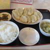 あさ利 - 料理写真:餃子(8ヶ)定食