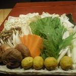 57116327 - 特別飼育 伊達鶏の水炊き鍋