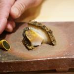 鮨菜 和喜智 - 蒸し鮑