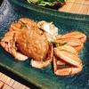 旬彩の里 野兎 - 料理写真:2016.10.7の店主おまかせコース 八森沖でとれた毛ガニ