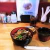 鉄板料理 風神 - 料理写真:牛スタミナ丼