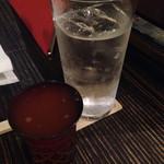 だいこんや - 雑賀梅酒ソーダ
