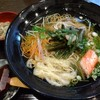 そば茶屋菖蒲庵 - 料理写真:温かい山菜蕎麦♪