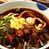 イチカバチカ - 料理写真:☆牛すじとろ肉うどん☆