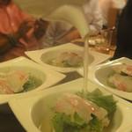 57148901 - 鯛のお刺身五穀米おこげのスープ茶漬け
