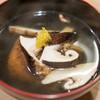 うを徳 - 料理写真:2016.10 岩手松茸と徳島海老芋のお椀