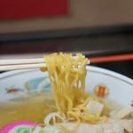 ラーメン信月 - 麺