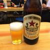 いづみや - ドリンク写真:瓶ビール510円