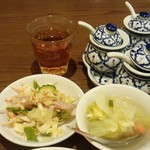 57174221 - ランチタイム本日のプチビュッフェ料理