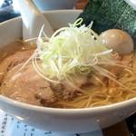 らぁめん大山 - 駿河塩そば(大盛り+味玉)