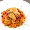 イタリア食堂 クッチーナ - 料理写真:【期間限定】産地直送!!昆布森産 牡蠣のアマトリチャーナ