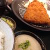 ほっとけや - 料理写真:特大アジフライ定食とろろ付き(1,101円)を頂きました。