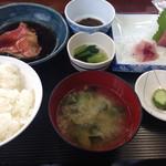 地魚食事処 さかなや - 料理写真:地金目定食¥1700