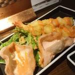 魚椿 - 天ぷら屋のエビマヨ 380円