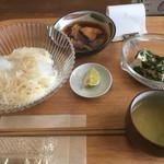 てしまのまど - 料理写真:とり南蛮そうめん定食