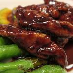 チャイニーズ酒場 エンギ - ホエー豚の黒酢酢豚