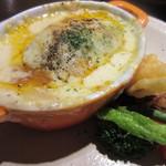 ビストロ オラゲ - ハンバーグ(付け合せ野菜)