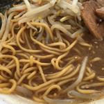 鯵壱北條。 - 強力粉を使用した麺(第3回まるひろ川越ラーメンフェスティバル)